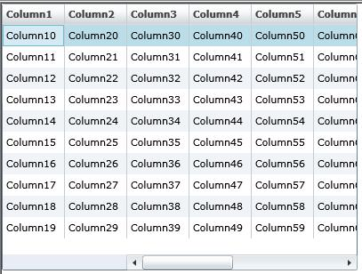 Silverlight 2 DataGrid with Frozen Columns
